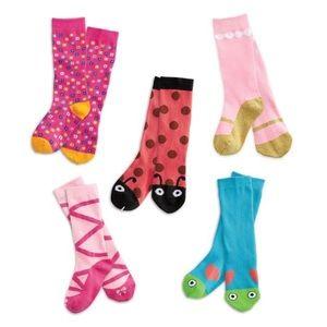 Girl's WellieWishers Socks Set - Size 12/13